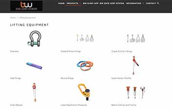 BW Lifting eCommerce Website