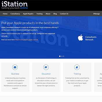 iStation Online Website Design
