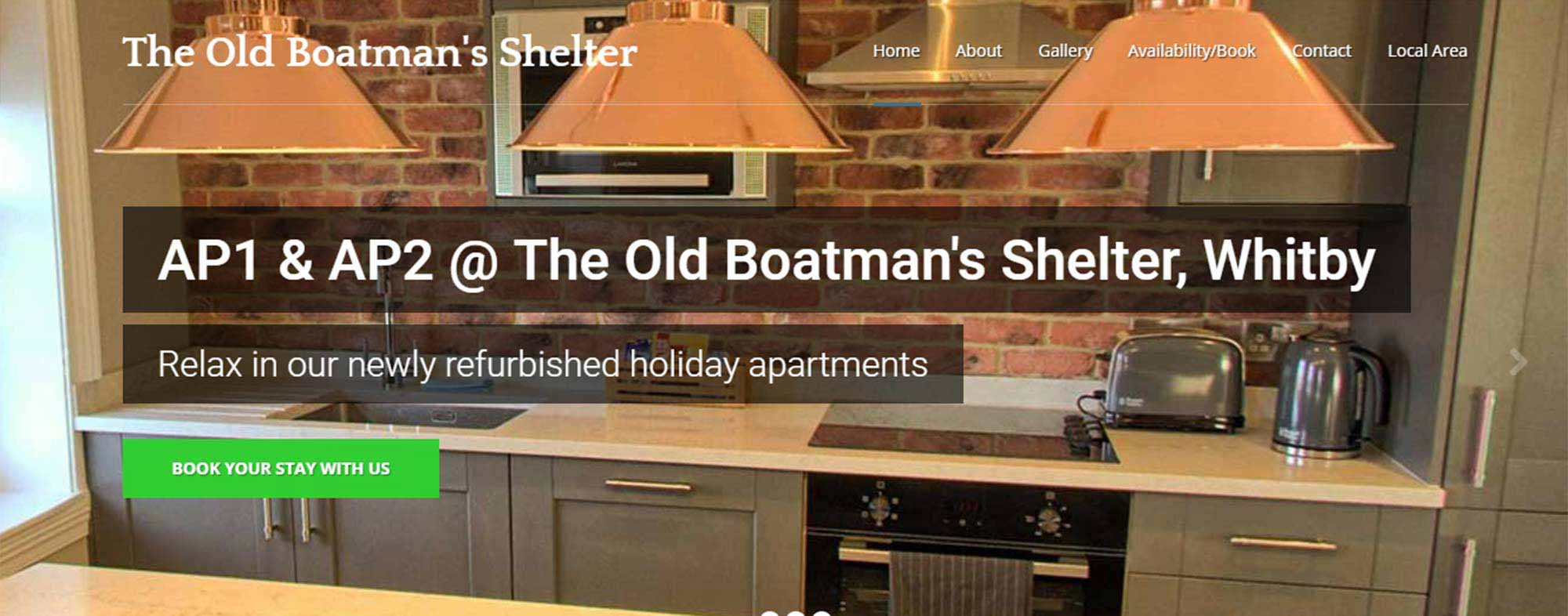 Old Boatman's Shelter Website