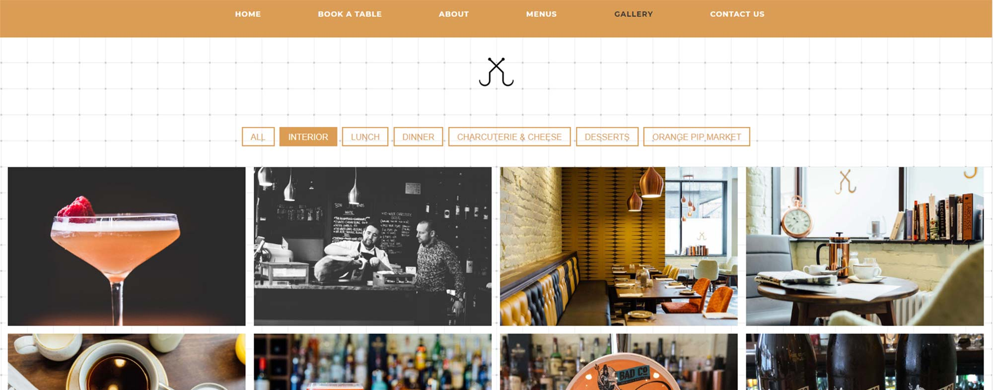 The Curing House Website Design